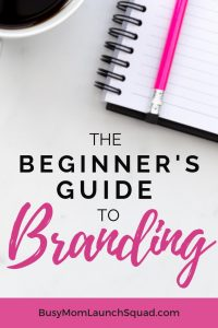 Starting a business from home? If you're a mom starting a coaching or VA online business, then you need to brand your business. Learn the basics of creating a brand that books more clients. #mombiz #branding #diy