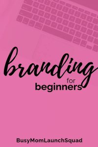 Basics of branding for beginners. Learn what the professional web designers and brand strategists know about creating a great brand! #branding #brandbasics #mombiz