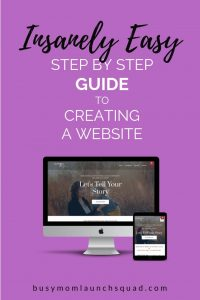Step by step guide to create a WordPress website. If you want to DIY your website, this easy tutorial will walk you step by step through everything you want to know. #free #website #wordpress