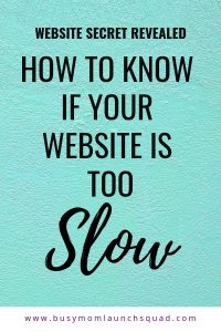 Do you know if your website loads in less than 3 seconds, most people will leave! Find out how to check your page speed and how to fix a slow loading website. #DIYtip #wordpress #webdesign