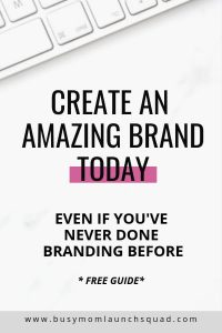 Branding for your online business? If you're a coach or VA and working on choosing your branding, then you need this free guide! It'll walk you through how to create your brand like a designer #branding #coach #onlinebiz