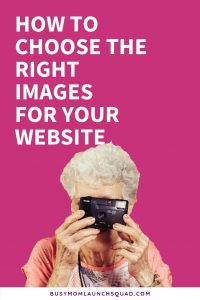 Designing your first website? Not sure what stock photos to use on your blog or homepage? Read this post for great tips on choosing the perfect pictures for your business #mombiz #blog #photography