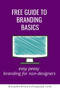 Starting an online business? This free guide will walk you through how to choose your branding the easy way! #branding #entrepreneur #brand