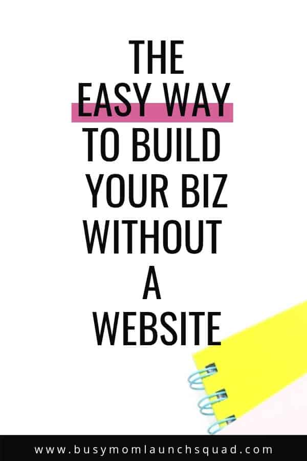 Starting a business from home but can't afford a website yet? Learn how you can easily grow your business before you ever hire a web designer!
