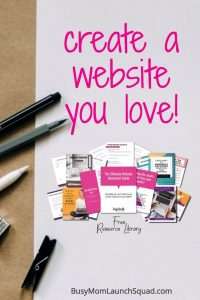 Need to make a website for your online business? This free resource library will help you discover your branding, plan out your site, and more! Free planner, guides, and workbooks to help you DIY a website