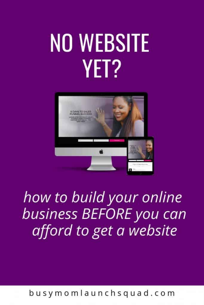 If you're starting an online business but can't afford a website yet, then this is the perfect for you! Find out how you can grow your email list, sell courses, and book new clients on autopilot.