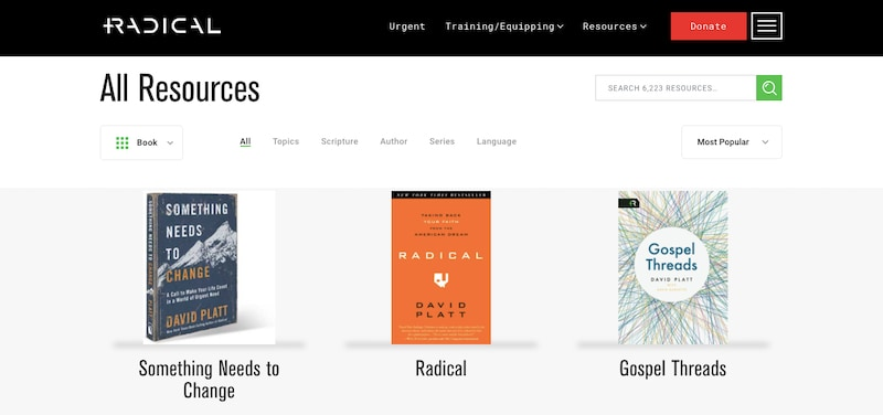 Bookstore on website for authors