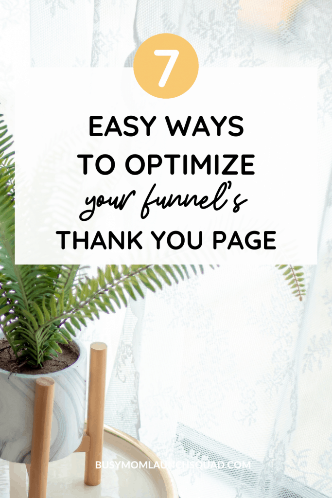 Email marketing tip | 7 ways to optimize your funnel's thank you page